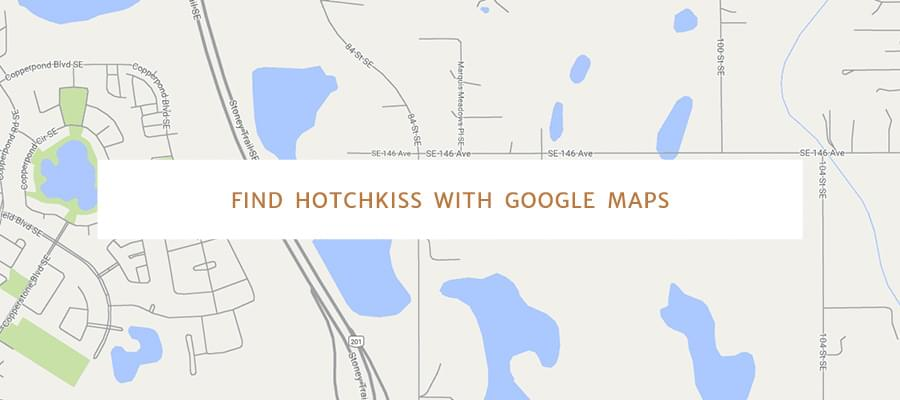Find Hotchkiss with Google Maps