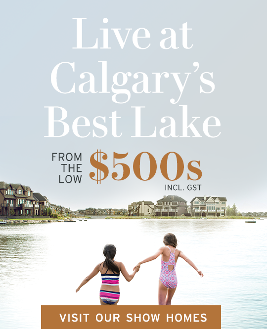 Live at Calgary's Best Lake graphic