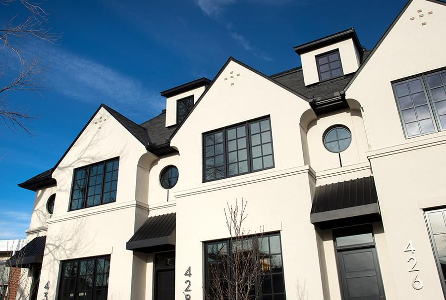 Nest Townhomes exterior