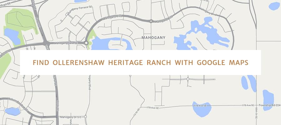 Find Ollerenshaw Ranch Site with Google Maps