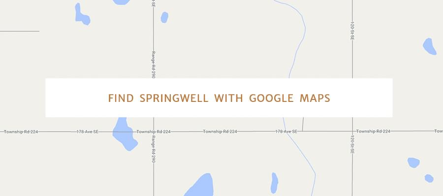 Find Springwell with Google Maps